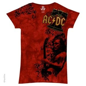 Liquid Blue AC/DC Problem Child Womens Long Length